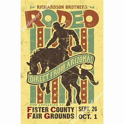 Rodeo Poster 1940 Posters 1940s Studio