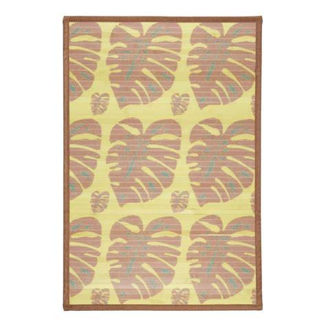 tapis de petite taille naturel couleur bois pas cher
