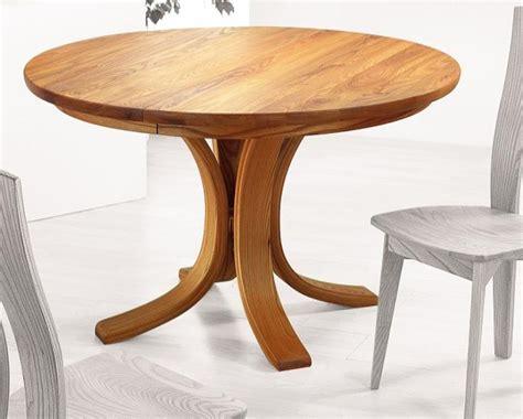 table de cuisine en bois avec rallonge table de cuisine ronde en bois table ronde en bois avec