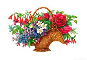 Flower Basket Clip Art Free