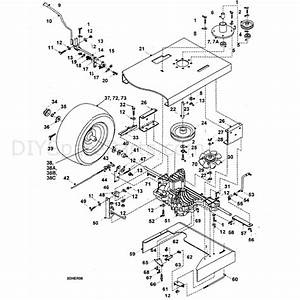 Hayter 18  42  St42   H1842  Parts Diagram  Tuff Torq Hydrostatic Transaxel Assy
