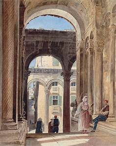 Le Palais De Diocltien Split En Croatie