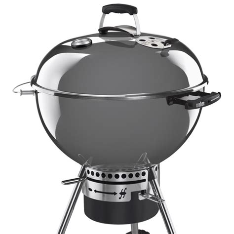 weber kugelgrill master touch holzkohlegrill master touch gbs 57cm warm grey weber