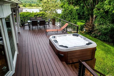 deck tub deck plans with tubs decks and patios with tubs