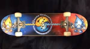 tech deck world industries battle handboard 27cm 11