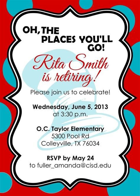 10 best images about Retirement invites on Pinterest Ibm