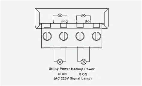 3 Pole Automatic Transfer Switch Wiring Diagram by Automatic Transfer Switch 3 4 Pole 6 To 63 S Ato