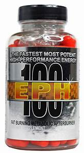 Eph 100 Ephedra Fat Burner By Hard Rock Supplements