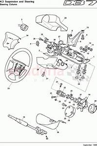 Aston Martin Db7  1997  Steering Column Parts