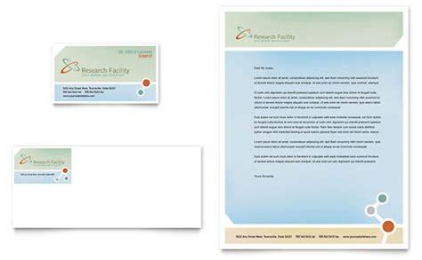 medical research brochure template design