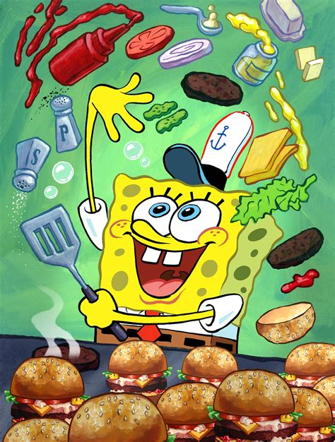snap spongebob illustration for the