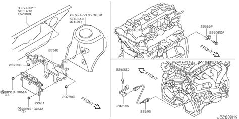 Nissan Cube Engine Diagram by Engine Module For 2006 2012 Nissan Cube Cube