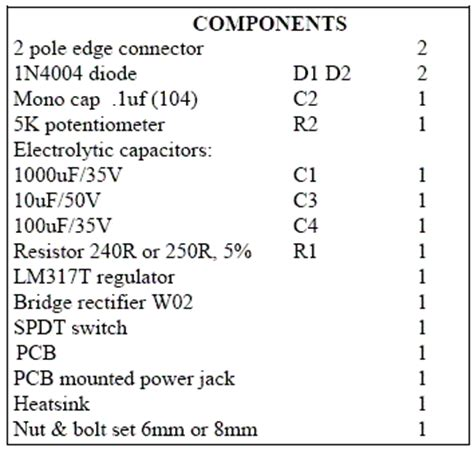 lm variable power supply