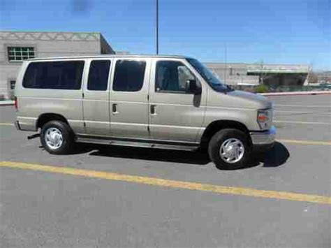 Find Used 2012 Ford E350 12 Passenger Van Tan Running