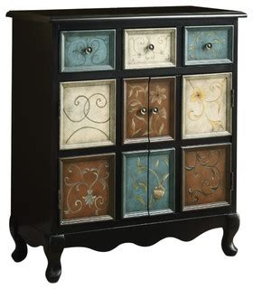 shelf kitchen cabinet distressed black multi color apothecary bombay chest 2186