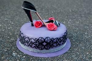 High Heel Shoe Cake - CakeCentral com