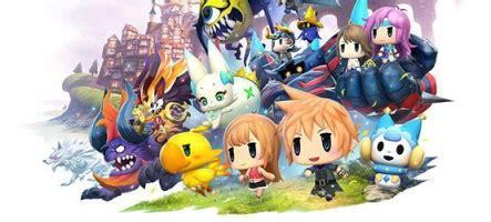 World Of Final Fantasy S'illustre à Nouveau  Page 1 Gamalive