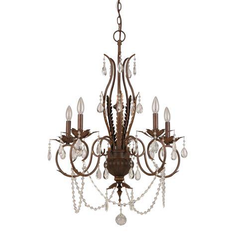 hton bay kitchen lighting hton bay 5 light bronze chandelier bvb9115a 4123