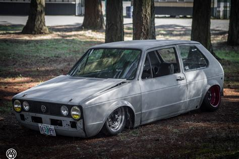 volkswagen rabbit vw rabbit golf mk i sitting on custom beetle frame is a