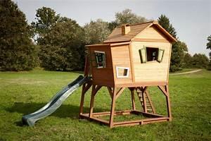 axi spielhaus max spielturm stelzenhaus baumhaus With französischer balkon mit spielhaus garten kinder