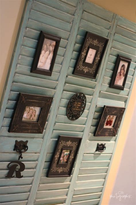 Decorating Ideas For Shutters by Dishfunctional Designs Upcycled New Ways With Window