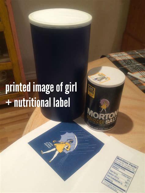 morton salt nutrition label