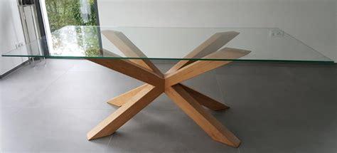 Glastisch Mit Holz by Glastisch Mit Holz Affordable Holz Glastisch Mit Led With
