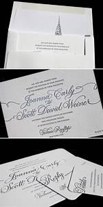 the perfect new york city wedding invitations bella figura With letterpress wedding invitations victoria