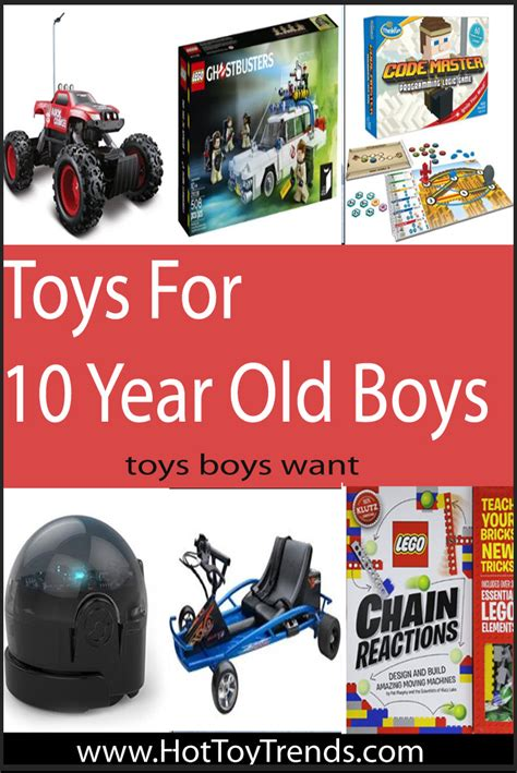 great gifts for 10 year old boys hot toy trends