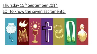 sacraments  missashley teaching resources tes