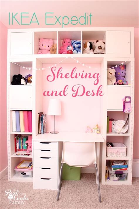 Bedroom Desk Storage by Ikea Expedit Turned Into A Great Shelving Unit With Desk