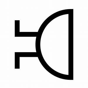 File Buzzer-iec-symbol-90cw Svg