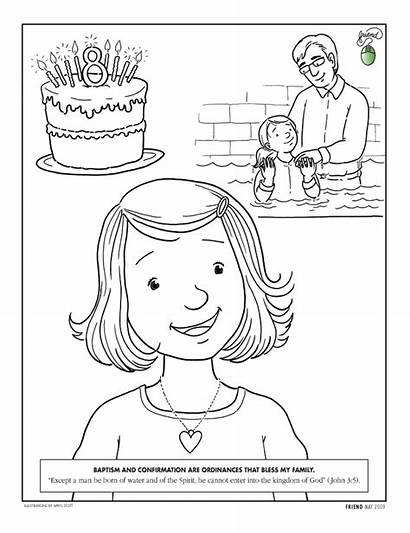 Lds Primary Missionary Clipart Numbers Coloring Pages