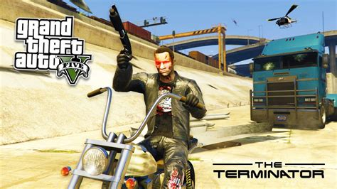 Play As The Terminator Mod! Gta 5