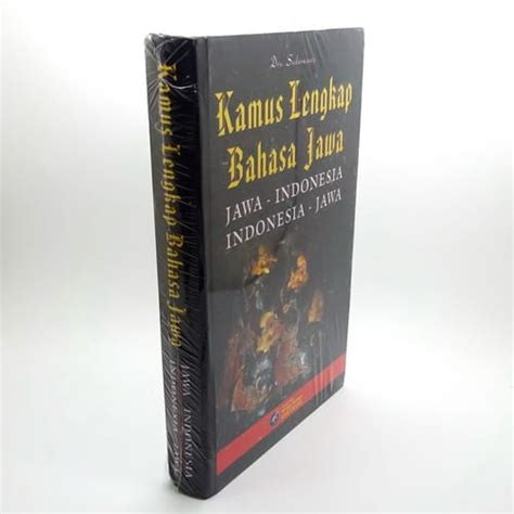 kamus lengkap bahasa jawa pusaka dunia