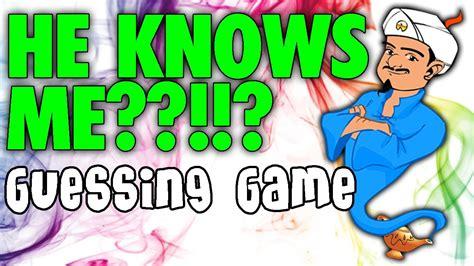 web genie akinator guessing game youtube