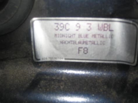 porsche blue paint code 1995 993 c2 paint code paint brand and type rennlist