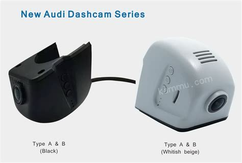 generation audi dashcam black  whitish beige