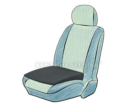 deluxe support cushion seat wedge height booster foam car