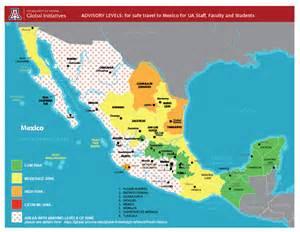 Mexico Travel Warnings Map