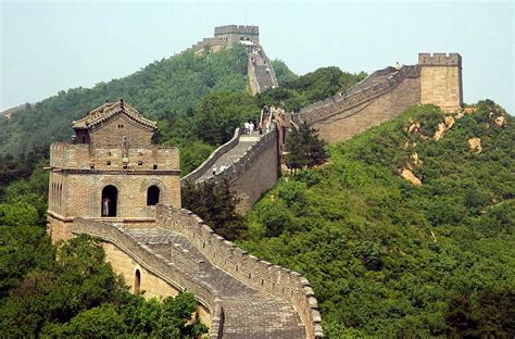 World Visits The Great Wall Of China Seven Wonder In