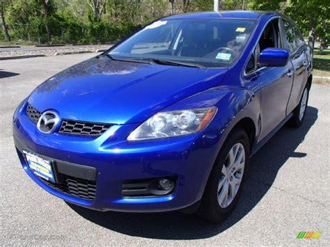 2007 Electric Blue Mica Mazda Cx-7 Sport #81011331