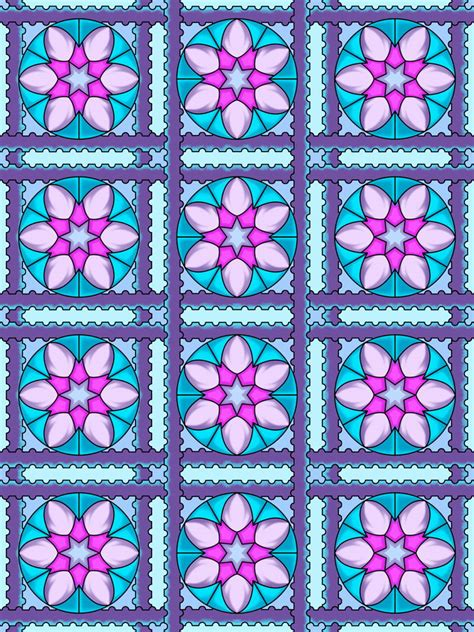 mandalas patterns coloring pages book sampler