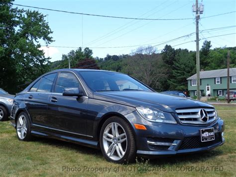 C 250 coupe 2d coupe drivetrain : 2013 Used Mercedes-Benz C-Class C 250 4dr Sedan C250 Sport RWD at MOTORCARS INCORPORATED Serving ...