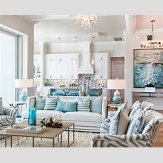 Florida Beach House With Turquoise Interiors  Home Bunch