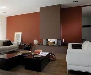 Peinture Moderne Salon : peinture salon 25 couleurs tendance pour repeindre le salon ~ Teatrodelosmanantiales.com Idées de Décoration