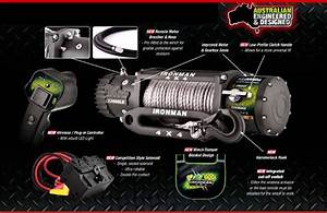 Ironman 9500lb Winch Wiring Diagram
