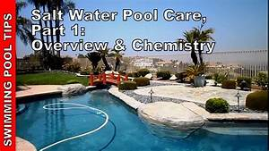 Salt Water Pool Care  Part One