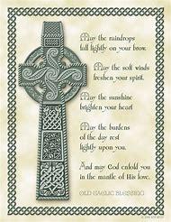Scottish Birthday Blessings Irish