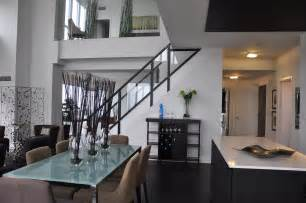 Interior Design For Kitchen And Dining 2 Homestyling Toronto Markham Richmond Hill 2 Level Penthouse Condo